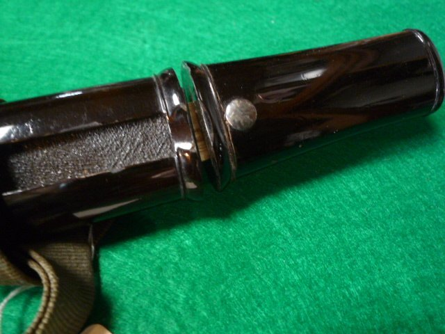短刀の拵え 鞘は黒の呂鞘です。脇差_画像5