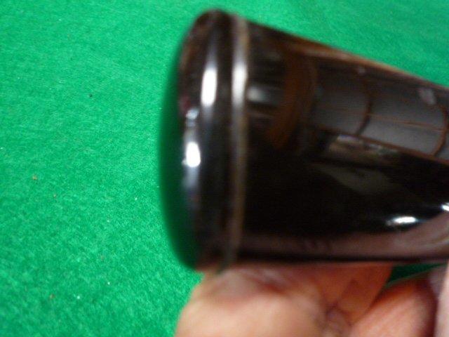短刀の拵え 鞘は黒の呂鞘です。脇差_画像7
