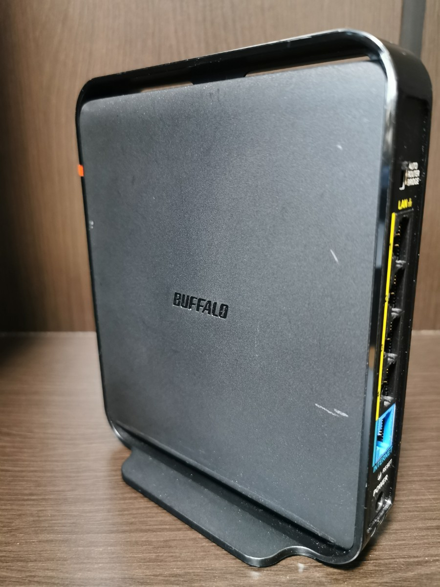 BUFFALO 無線LANルーター WHR-1166DHP