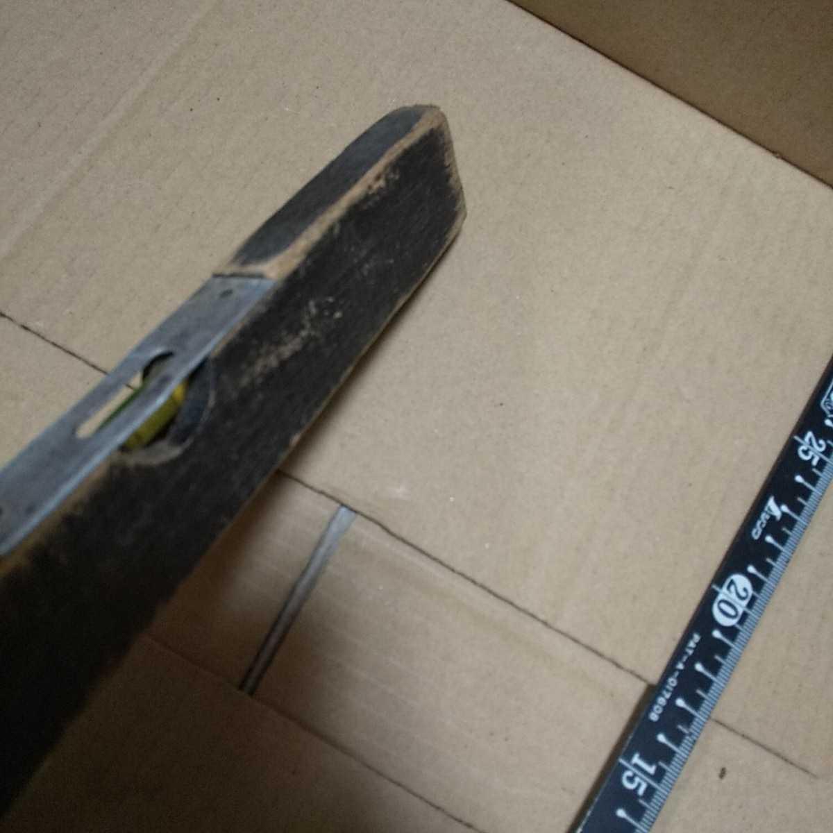 大工道具 アンティーク 水平器 ジャンク 昭和 レトロ 古い コレクション 古道具 送料無料_画像3
