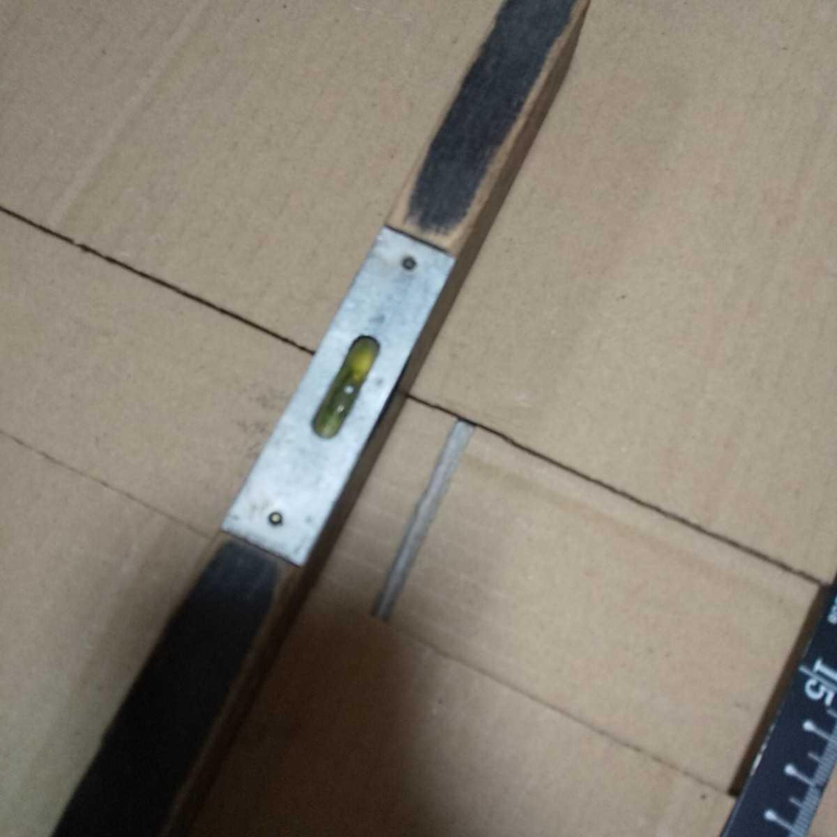 大工道具 アンティーク 水平器 ジャンク 昭和 レトロ 古い コレクション 古道具 送料無料_画像2