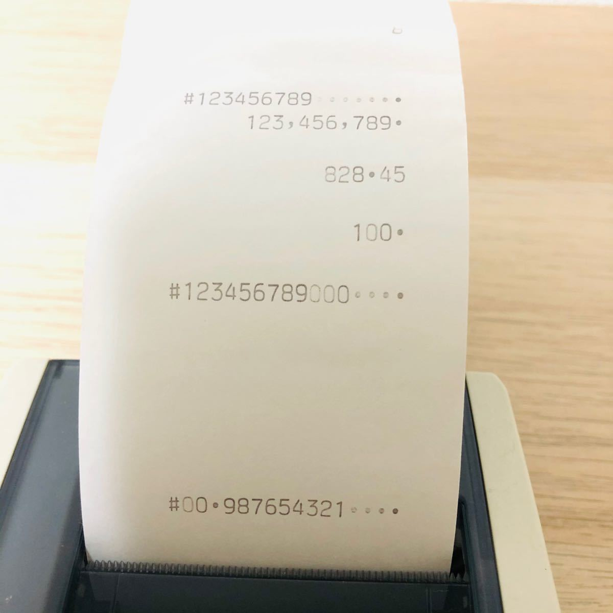 CASIO  ハンディタイププリンター電卓 HR-8TMGY-N
