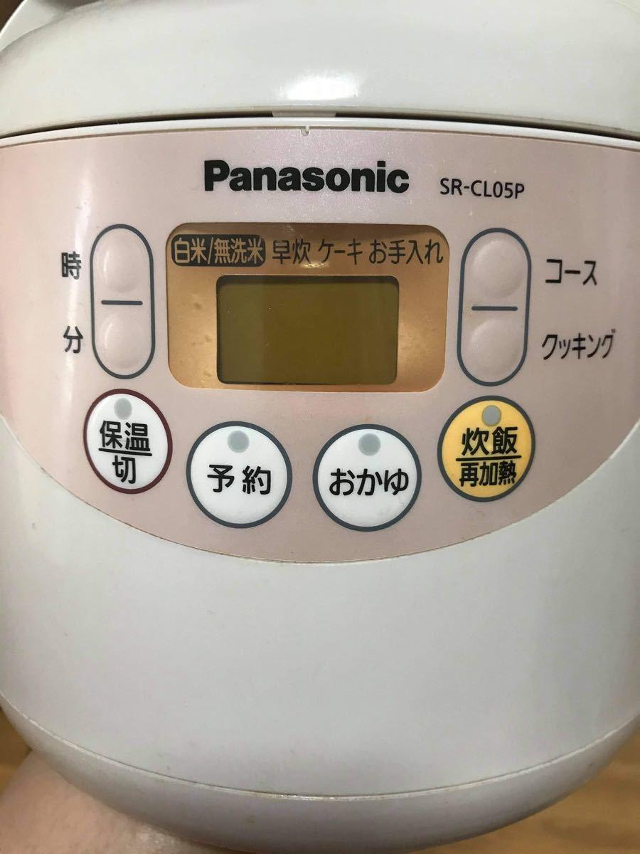 Panasonic 炊飯器 SR-CL05P
