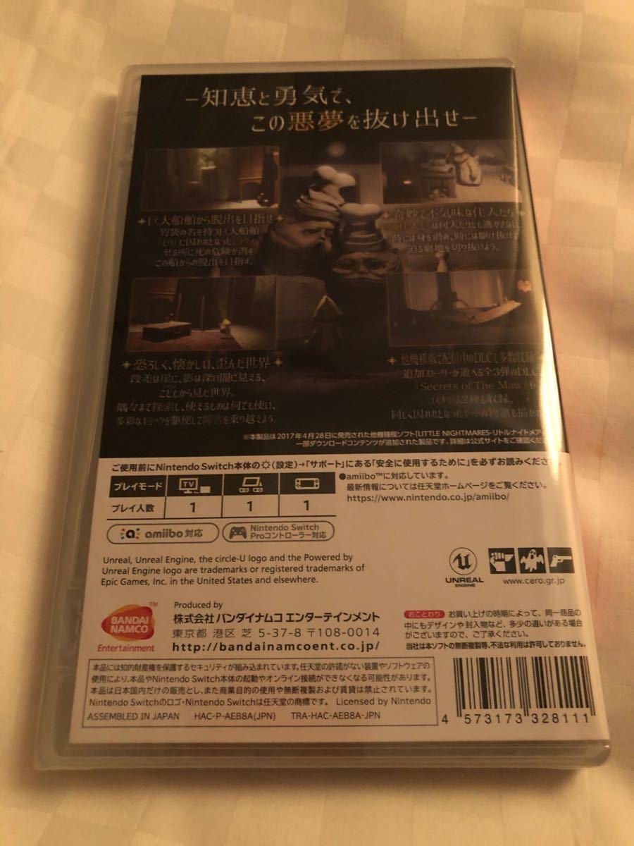 新品未開封【Switch】 LITTLE NIGHTMARES-リトルナイトメア- Deluxe Edition