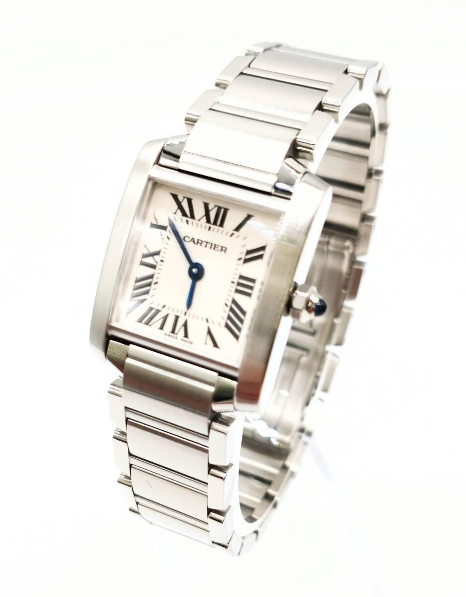 美品 Cartier カルティエ メンズ レディース タンクソロ  2384 191163CF 時計 クォーツ