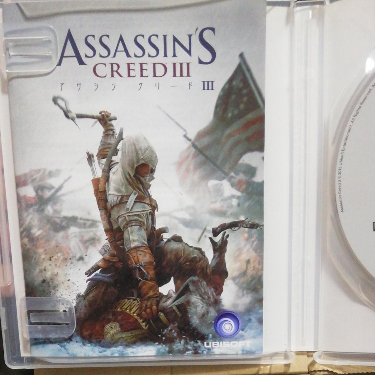 PS3 アサシンクリード3  ASSASSIN''S CREEDIII