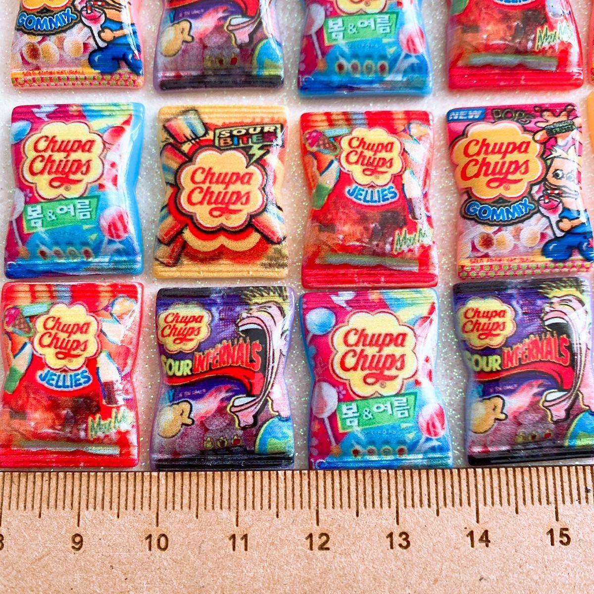デコパーツ キャンディパーツ 24個セット まとめ売り お菓子パーツ