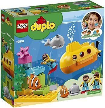レゴ(LEGO) デュプロ 世界のどうぶつ サブマリンの水中探検 10910 知育玩具 ブロック おもちゃ 女の子 男の子_画像6