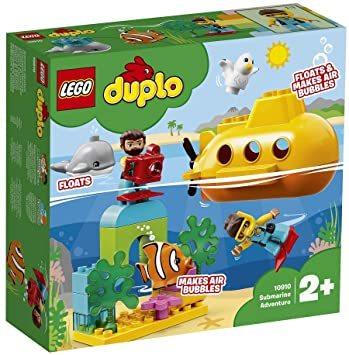 レゴ(LEGO) デュプロ 世界のどうぶつ サブマリンの水中探検 10910 知育玩具 ブロック おもちゃ 女の子 男の子_画像8