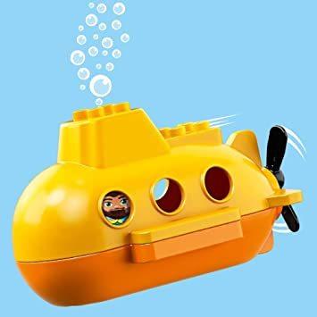 レゴ(LEGO) デュプロ 世界のどうぶつ サブマリンの水中探検 10910 知育玩具 ブロック おもちゃ 女の子 男の子_画像7