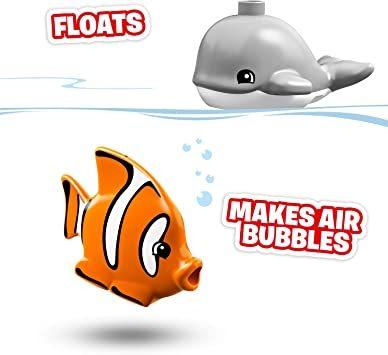 レゴ(LEGO) デュプロ 世界のどうぶつ サブマリンの水中探検 10910 知育玩具 ブロック おもちゃ 女の子 男の子_画像3