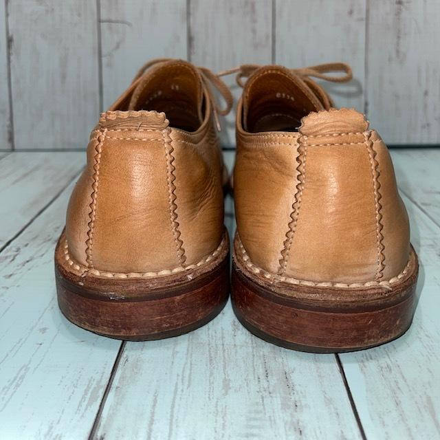 【即決/送料無料】BOEMOS ボエモス EUR41 25.5cm Uチップ 茶 ブラウン 革靴_画像4