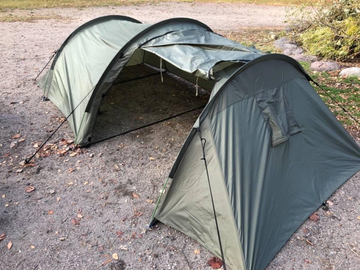 【格安】ミリタリー テント 前室 ~3人用 / ツーリング ソロ キャンプ 1人用 2人用 3人用 ソロキャン