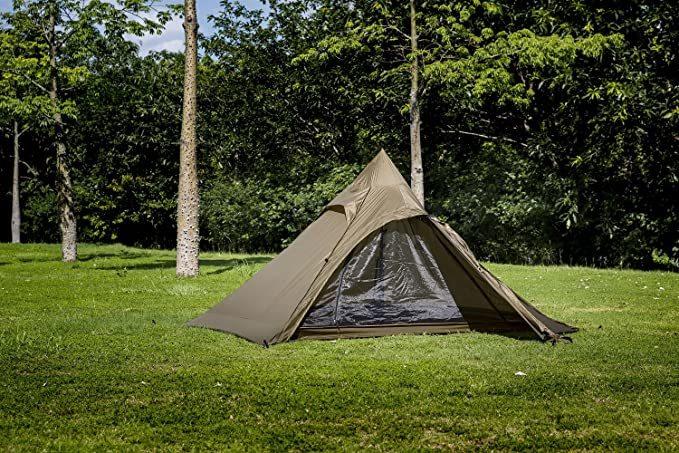 OneTigris インディアンテント TIPINOVA 軽量 コンパクト 持ち運び簡単 ツーリング ソロ キャンプ 1人用 2人用