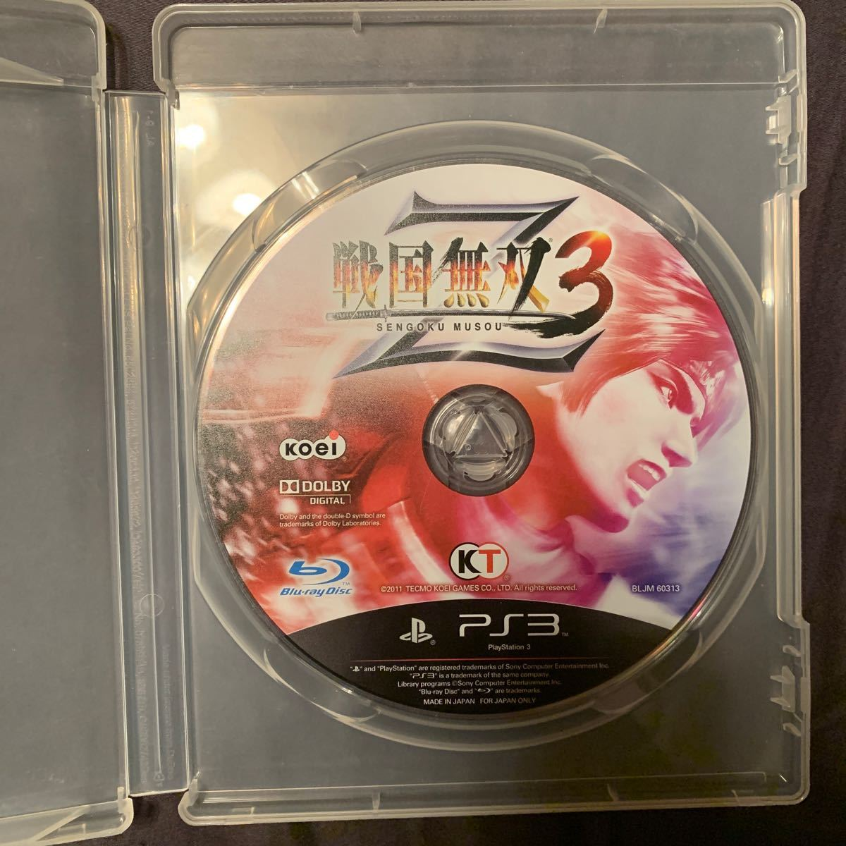 PS3 ソフト 戦国無双3
