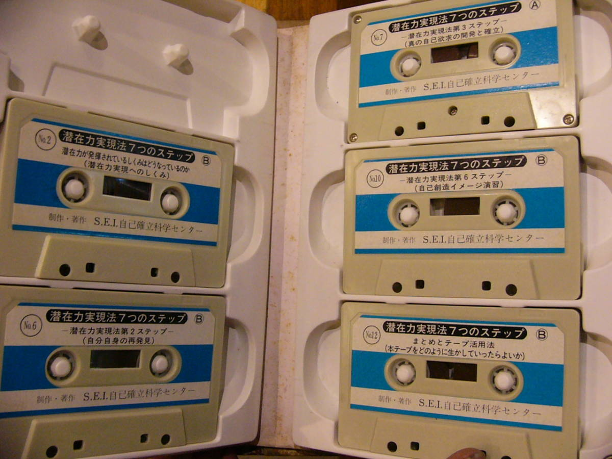 S.E.I カセットテープ 17本まとめて/SEI式 新自律訓練法 自己発見分析 潜在力実現法/自己啓発_画像4