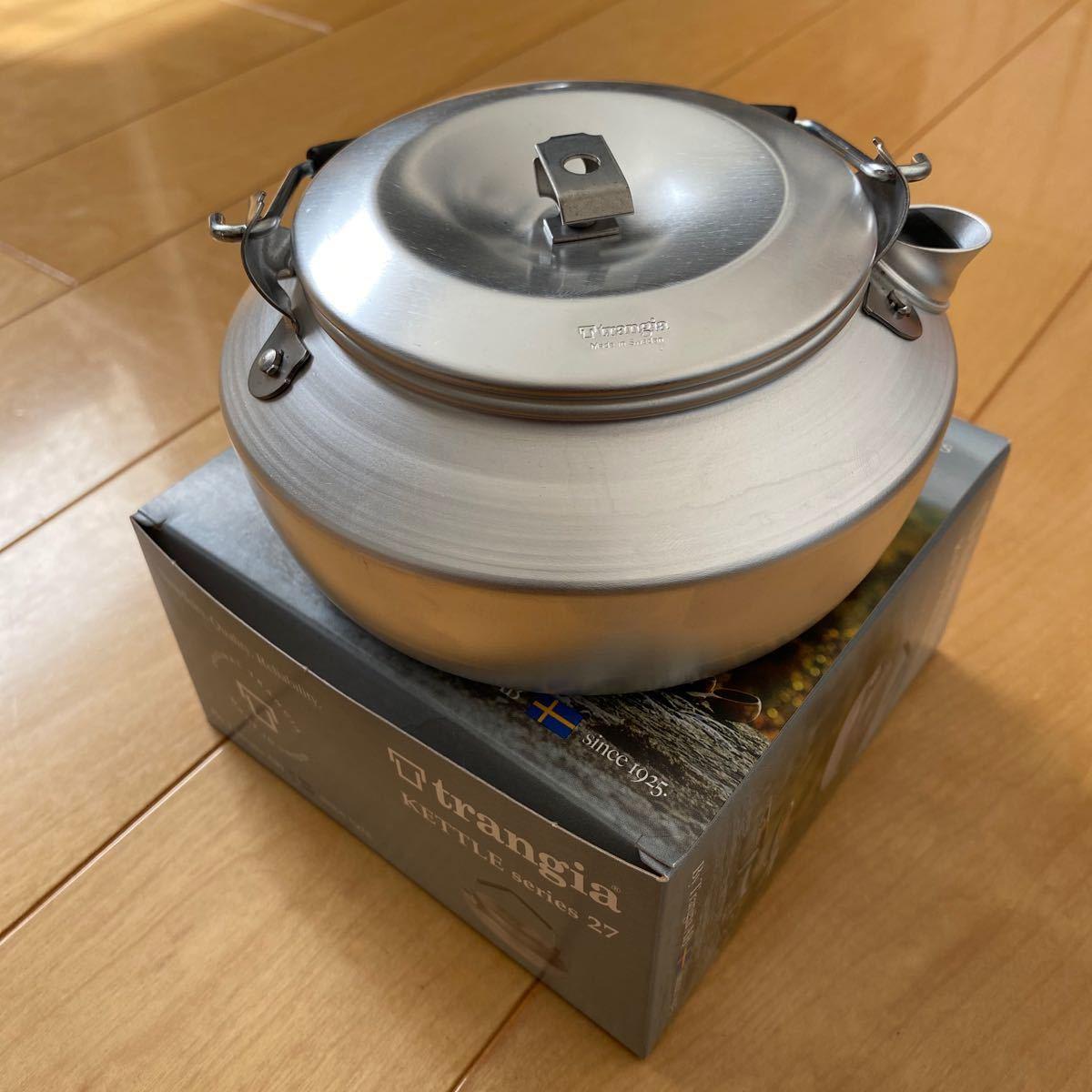 trangia トランギア ケトル 0.6リットル(新品未使用)