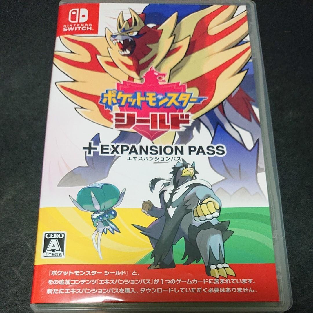 ポケットモンスターシールド+エキスパンションパス Nintendo Switch ポケモン