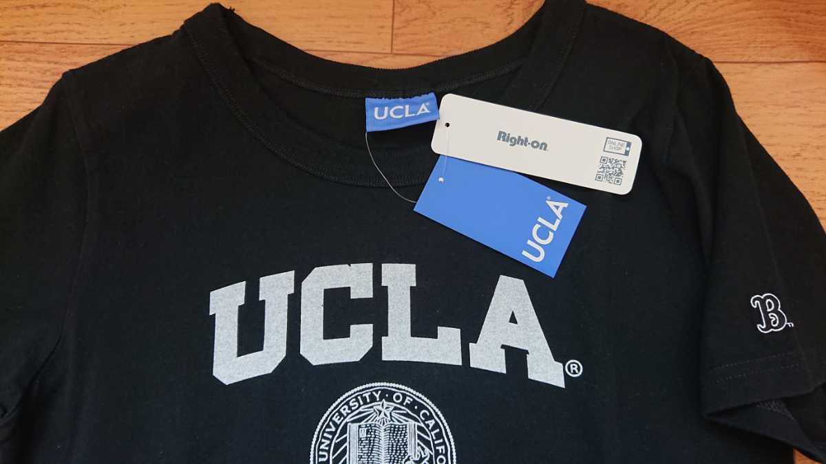 即決未使用 UCLA Lサイズ 半袖Tシャツ ガレッジ tee ブラック AM21_画像2