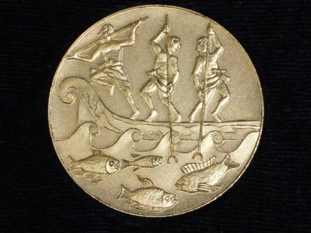★稀少品★EXPO'75沖縄国際海洋博覧会記念メダル/共箱★_画像3