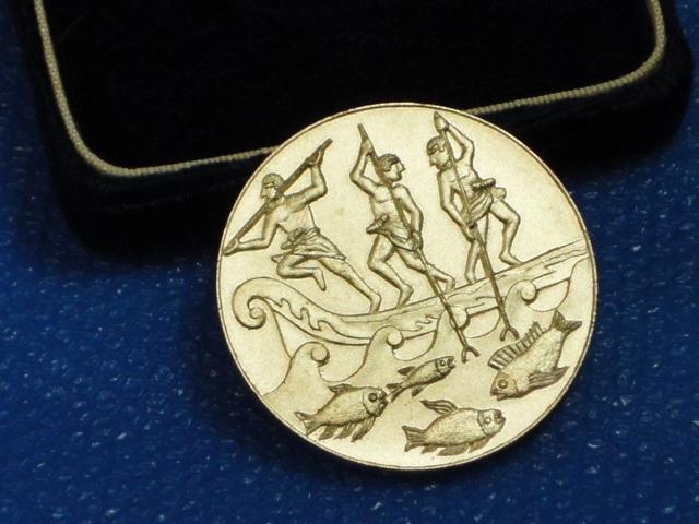 ★稀少品★EXPO'75沖縄国際海洋博覧会記念メダル/共箱★_画像9