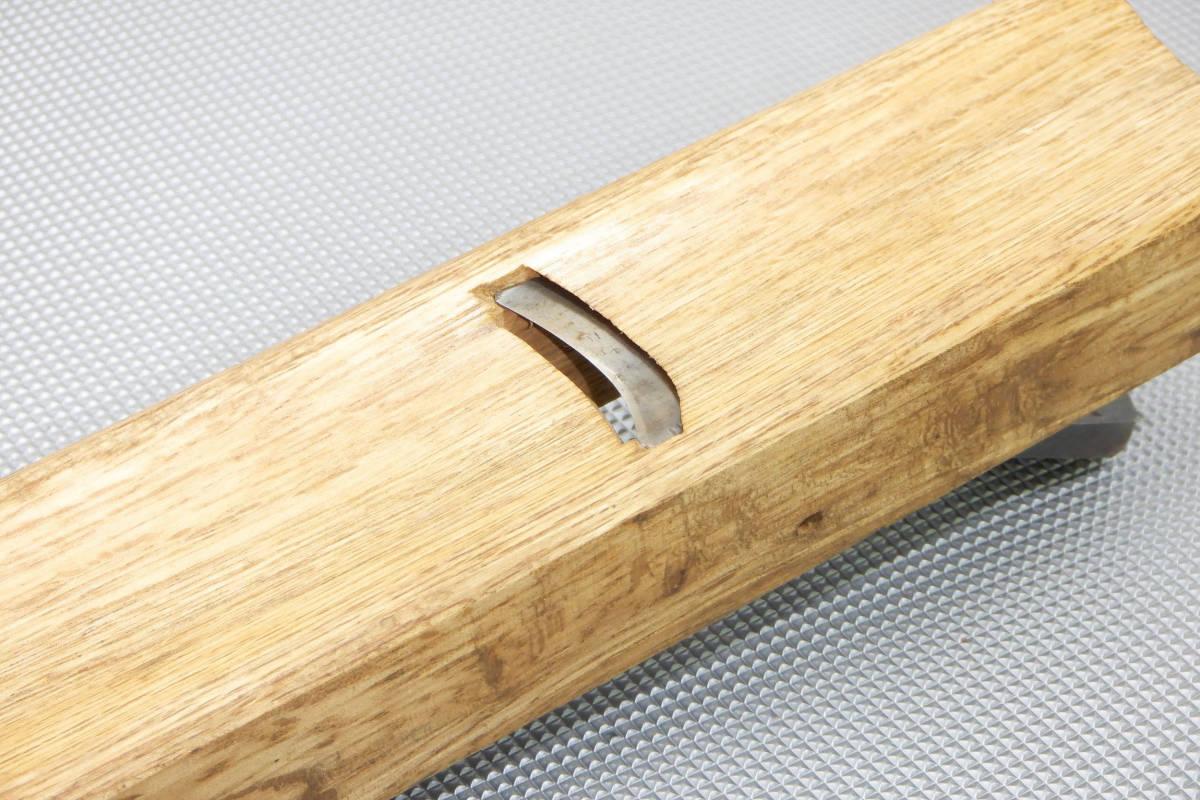 在銘品 内丸鉋 30mm 大工道具 本職用 在銘品 2枚カンナ 特殊カンナ_画像4