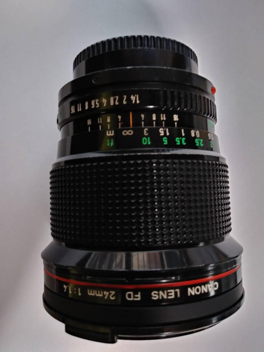 実用品キャノンFD24mmF1.4L(外観ジャンクかも?)