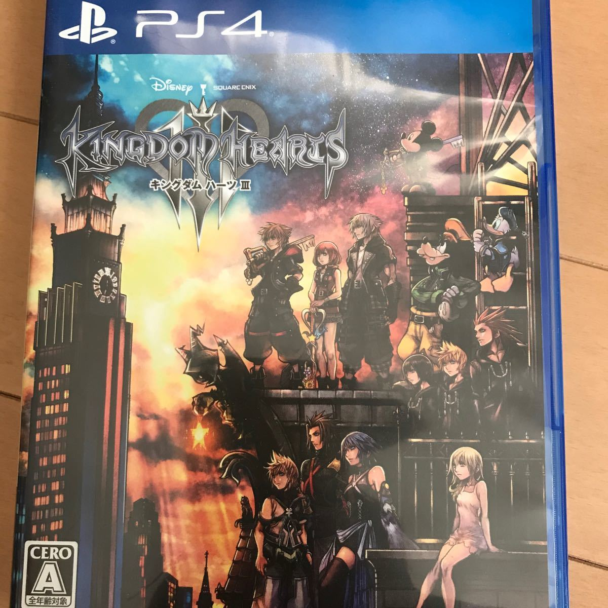 キングダムハーツ3 PS4 KINGDOM HEARTS ソフト