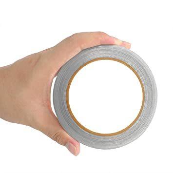 導電性アルミテープ 【25mm幅x20m長×厚さ0.06mm】導電性アルミ箔テープ 強粘着 アルミ箔テープ 静電気対_画像6