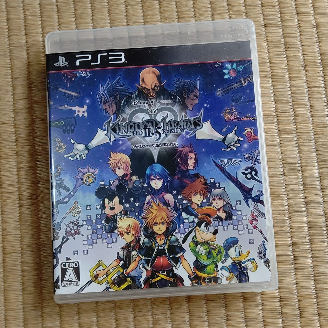 キングダムハーツHD2.5リミックス PS3ソフト
