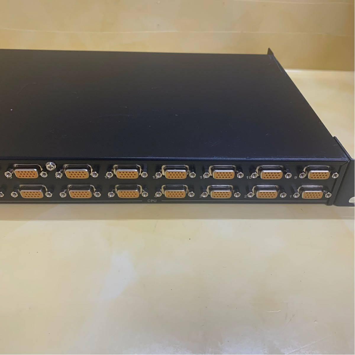 B3)ALTUSEN KVM OVER THE NET KN9116 100-240V (1)_画像2