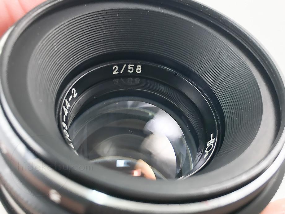 ぐるぐるボケのヘリオス【分解清掃済み・撮影チェック済み】Helios 44-2 58mm F2.0 M42マウント_35h_画像7