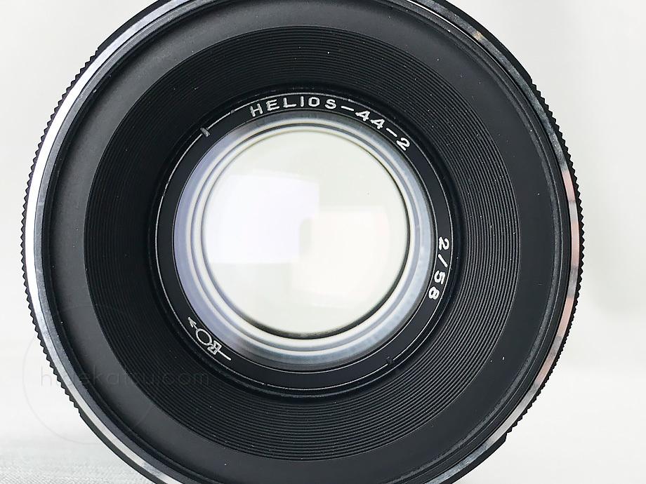 ぐるぐるボケのヘリオス【分解清掃済み・撮影チェック済み】Helios 44-2 58mm F2.0 M42マウント_35h_画像9
