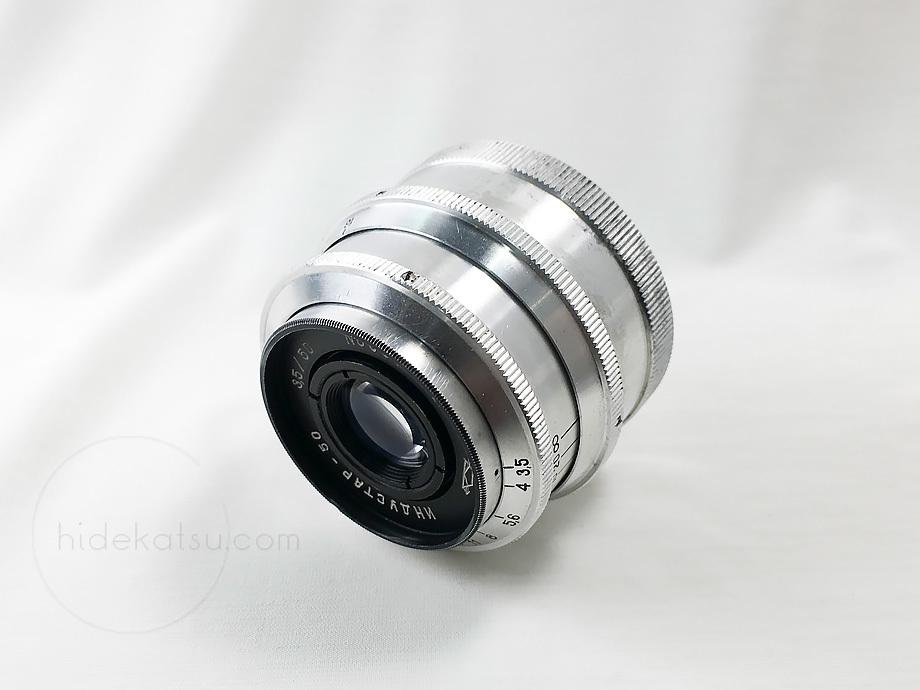 淡い描写の手頃なロシアンレンズ【分解清掃済み・撮影チェック済み】 KMZ Industar-50 50mm F3.5 M39_画像3