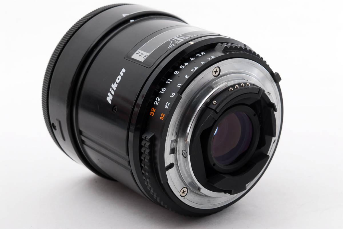 Nikon ニコン AF Micro Nikkor 55mm f/2.8 Macro 一眼レフカメラ用 マクロ レンズ 単焦点 [美品] #741703_画像6