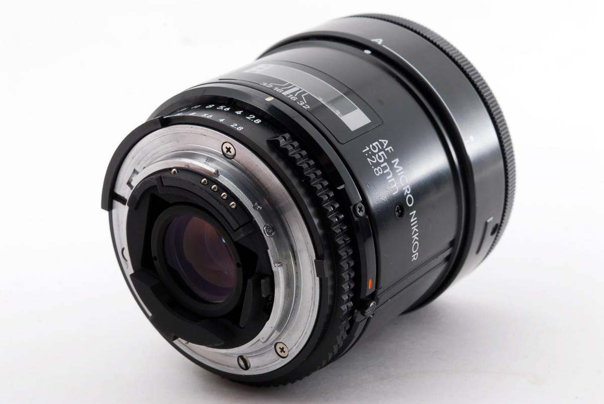 Nikon ニコン AF Micro Nikkor 55mm f/2.8 Macro 一眼レフカメラ用 マクロ レンズ 単焦点 [美品] #741703_画像7