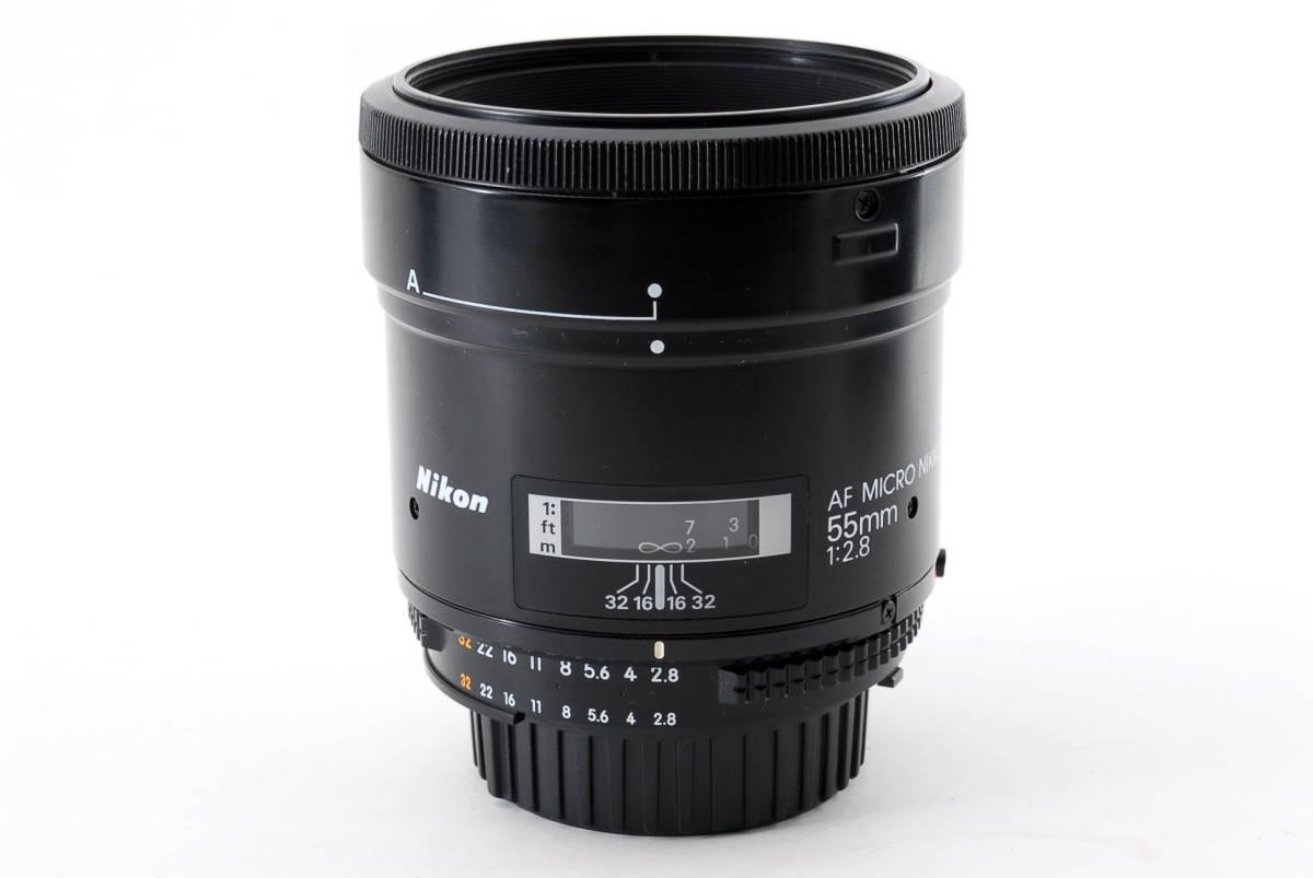 Nikon ニコン AF Micro Nikkor 55mm f/2.8 Macro 一眼レフカメラ用 マクロ レンズ 単焦点 [美品] #741703_画像9
