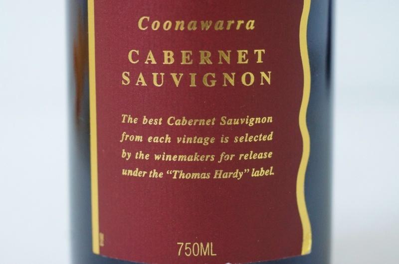 h070◇HARDYS Thomas Hardy Coonawarra CABERNET SAUVIGNON 1994 オーストラリア 赤ワイン 未開栓 古酒_画像6