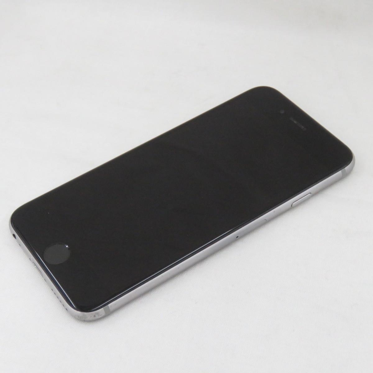 1円~【中古品】docomo ドコモ スマートフォン Apple iPhone 6S 64GB MKQN2J/A スペースグレイ 判定○ ※SIMロック解除済み 10722791