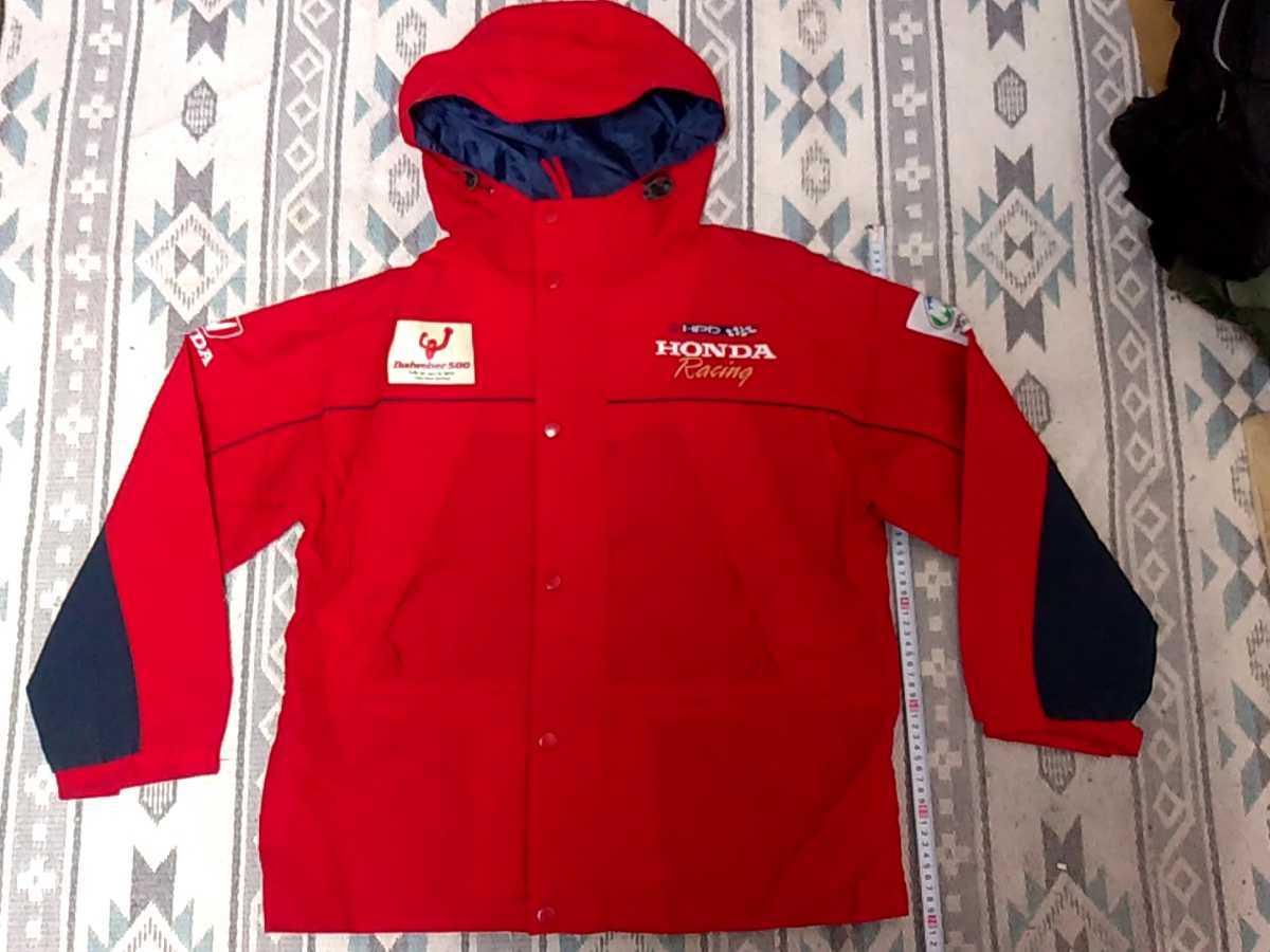 HONDA ナイロンジャケット ホンダレーシング オンワード樫山 ホンダ Budweiser500 ジャンパージャケット サイズ不明_画像1