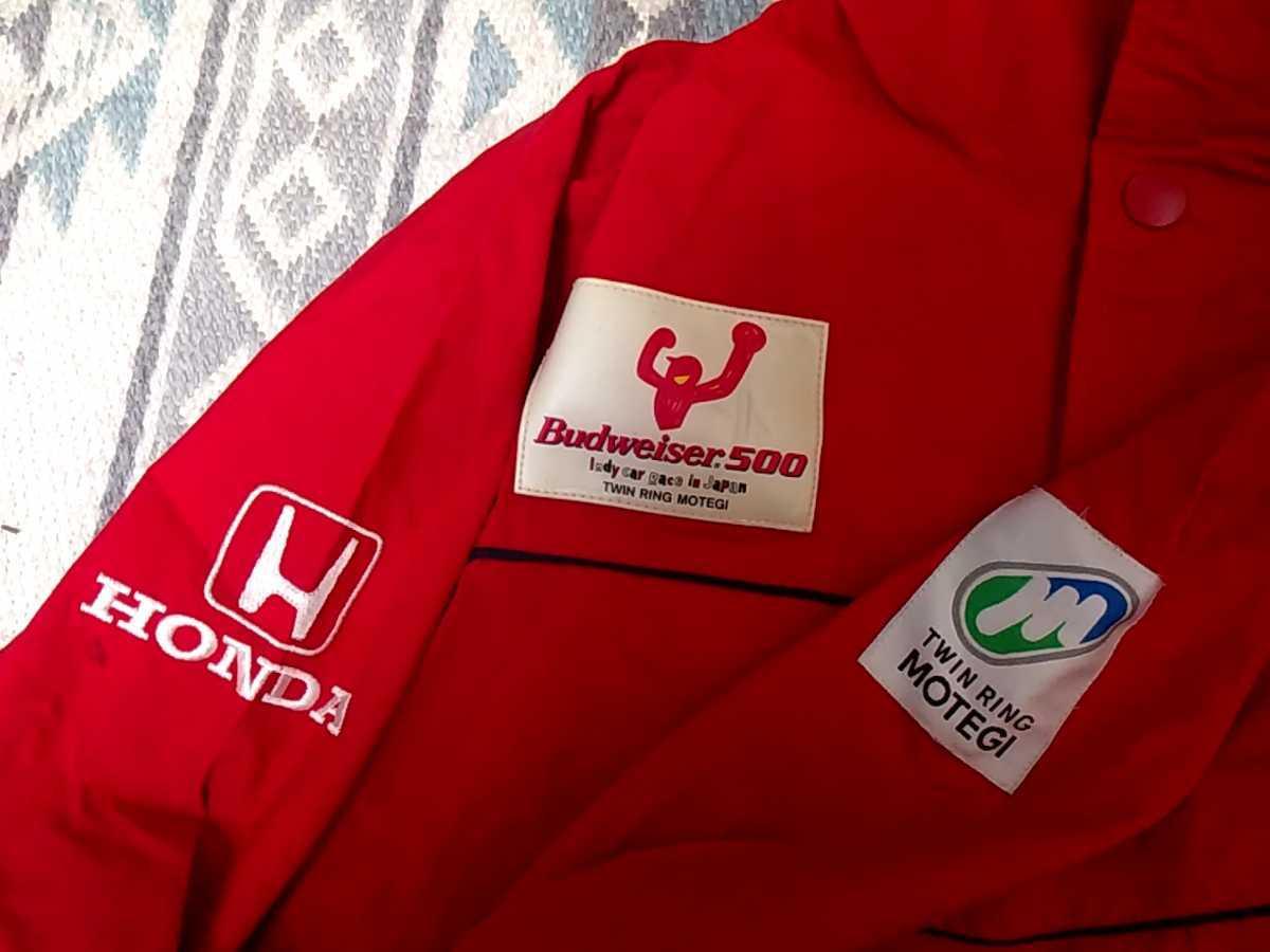 HONDA ナイロンジャケット ホンダレーシング オンワード樫山 ホンダ Budweiser500 ジャンパージャケット サイズ不明_画像5
