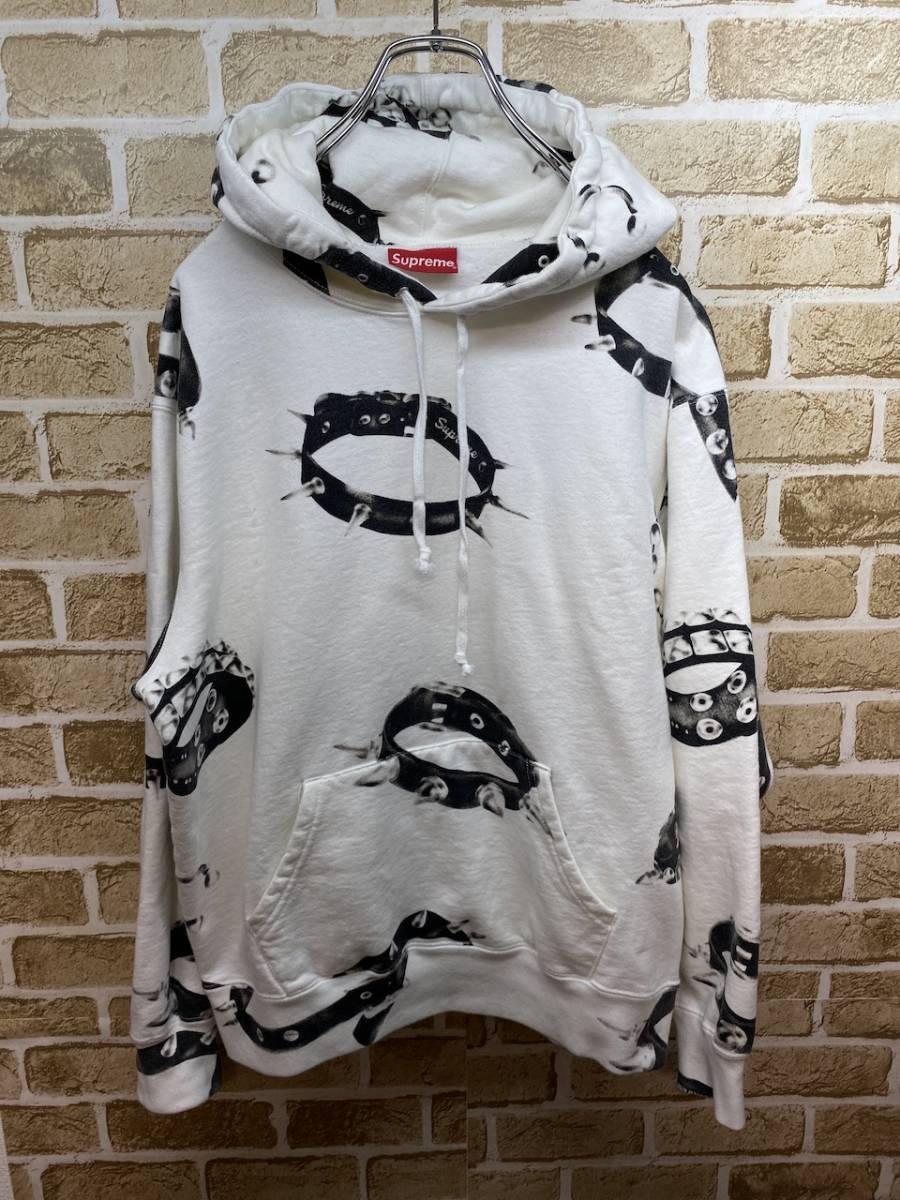 S  20AW Supreme Studded Collars Hooded Sweatshirt パーカー_画像1