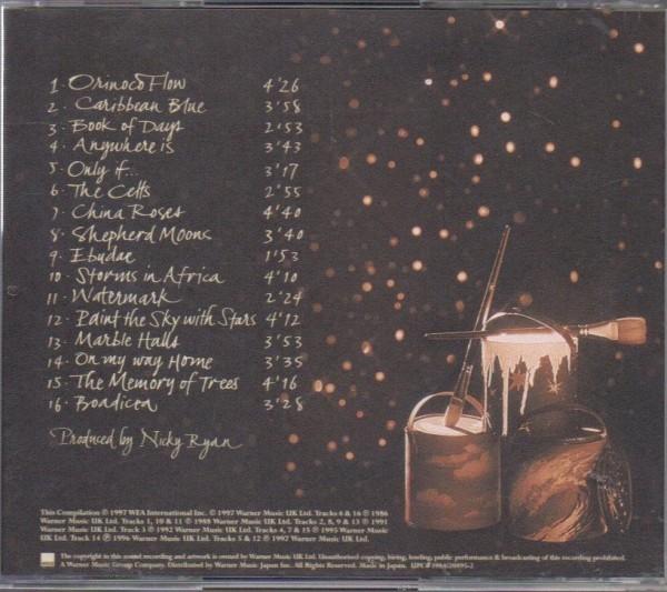 エンヤ ペイント・ザ・スカイ ザ・ベスト・オブ・エンヤ 国内盤 CD 帯付 Paint The Sky With Stars The Best Of Enya WPCR1900