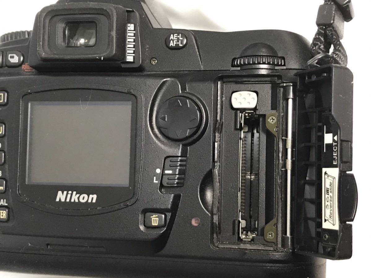 Nikon ニコン D70 デジタル一眼レフカメラ AF-S DX ZOOM-NIKKOR 18-70mm f/3.5-4.5G IF ED 簡易動作確認済 ショット数不明 元箱 現状 T1111_画像7