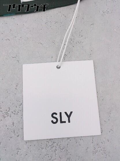 ◇ ●新品● ◎ SLY スライ タグ付き パンツ サイズ1 ブラック マルチ レディース_画像6