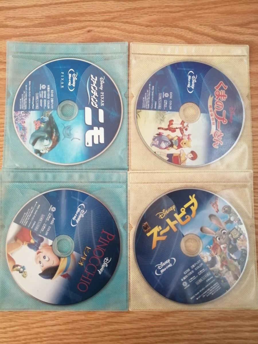 ディズニー Blu-ray 7点セット 国内正規品 未再生 タイトル変更自由 画像2枚目3枚目参照