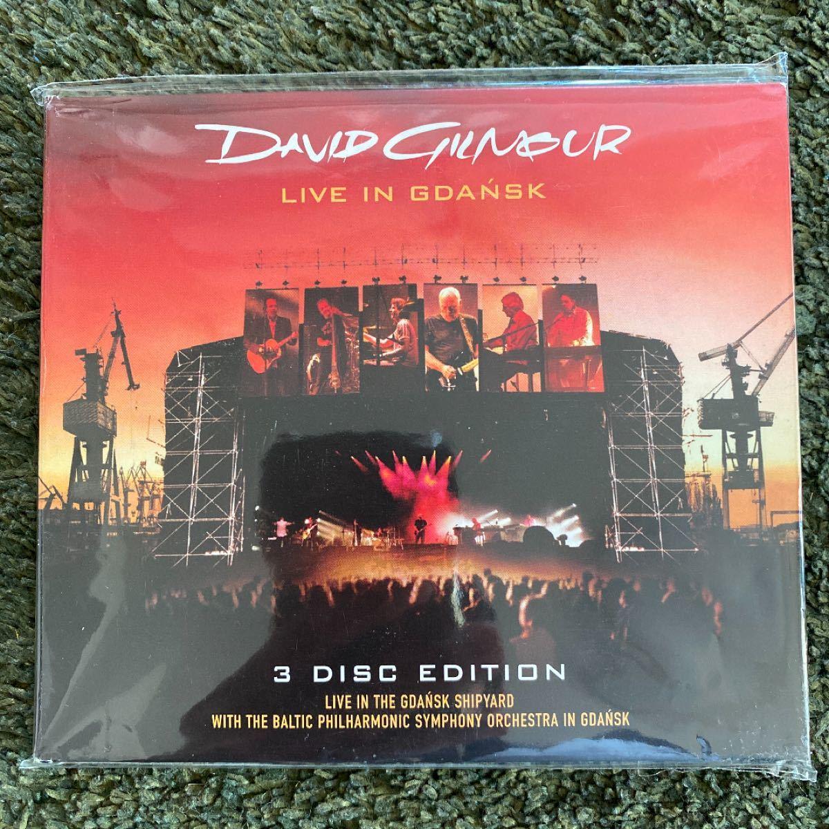 Live In Gdansk David Gilmour