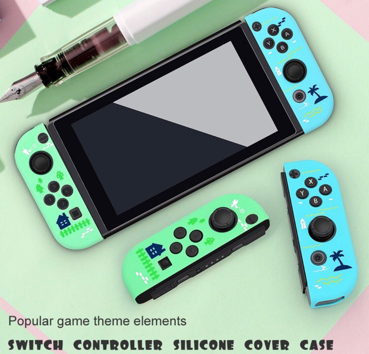 【専用】任天堂Switch ジョイコンカバー スイッチスティックカバー付き ジュン