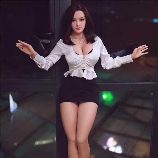 【 フルボディ】等身大のセクシー秘書 マネキン フィギュア ドール 撮影や一人暮らしのインテリアに 【組立不要】 _画像3