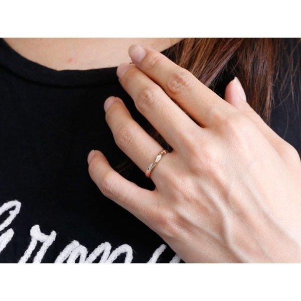 ハワイアンジュエリー 結婚指輪 マリッジリング ペアリング ホワイトゴールドk10 ピンクゴールドk10 ハワイアンリング 地金 k10 送料無料_画像4